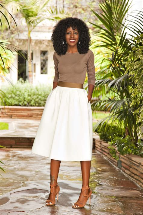 Style Pantry by Sleeve White Midi Skirt Style Pantry Bloglovin