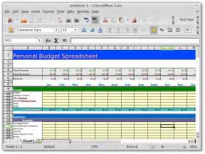 Open Office Budget Template by Openoffice Org Libreoffice Personal Family Budget