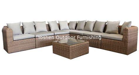 outdoor modular furniture outdoor rattan furniture modular sectional sofa set ys5739