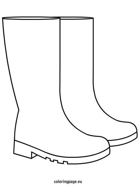 rain-boots template, #fashionart #rainboots #Template in