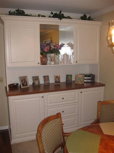 Dining Room Wall Units Wall Units Traditional Dining Room Santa Barbara By Closet Crafters