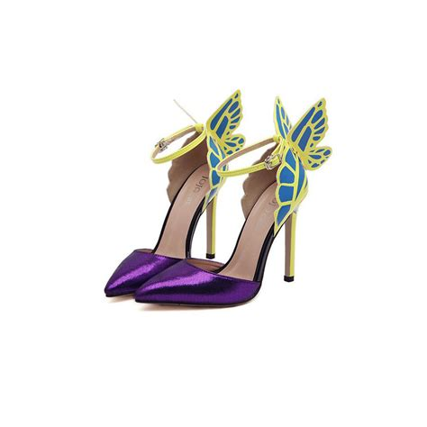 colorful pumps s pumps personality wedding high heels