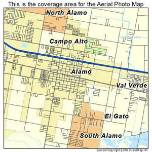 the alamo map aerial photography map of alamo tx