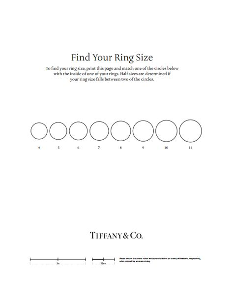 printable ring sizer kays how zales kay jewelers and tiffany co overthought ring