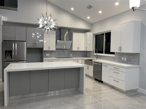 modern kitchen cabinets  miami stone international