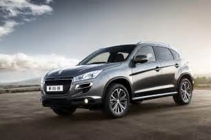 Peugeot 308 Crossover Peugeot 4008 Crossover New Photos Released Autoevolution