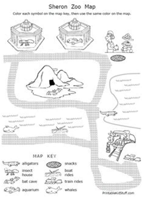 Grade 4 Map Skills Worksheets by Map Skills On Social Studies Geography And