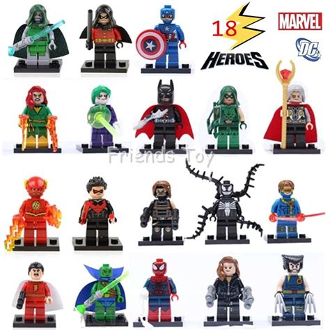 18 characters marvel dc heroes batman the