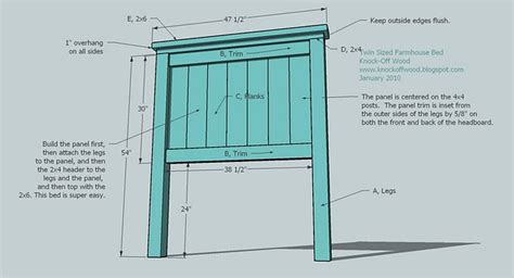 Table Saw Cabinet Plans Woodworking Plans For Twin Headboard