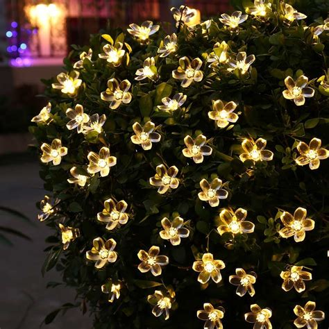solar power string lights solar power string lights 7m 50 led