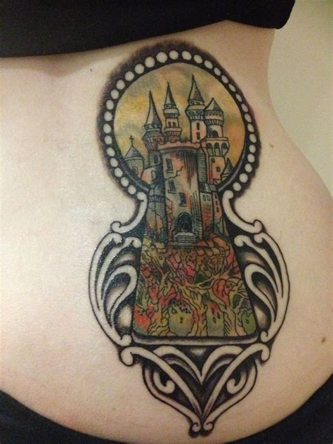 keyhole tattoo inspired by the kingkiller chronicles