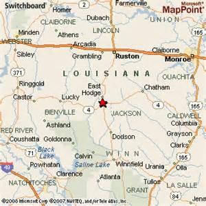 jonesboro map jonesboro louisiana