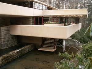 a behind the scenes tour of fallingwater an american interior photos of falling water