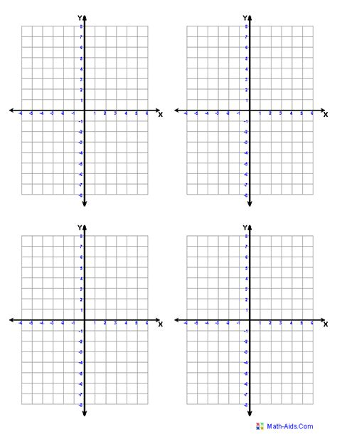 printable blank math graphs graph paper printable math graph paper