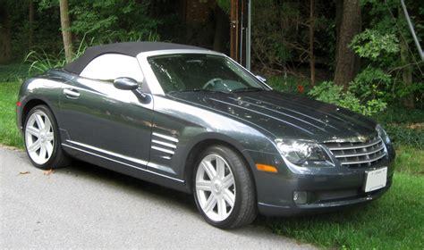 Chrysler Crossfire Wiki by File Chrysler Crossfire Convertible 07 04 2009 Jpg