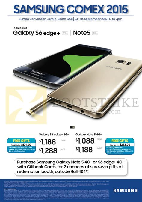 samsung galaxy note 4 price in singapore 2015 samsung smartphones galaxy s6 edge 4g galaxy note 5 4g citibank specials comex 2015 price