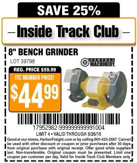 bench coupon bench coupons harbor freight tools coupon database free
