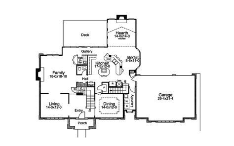 double staircase floor plans double staircase house plans