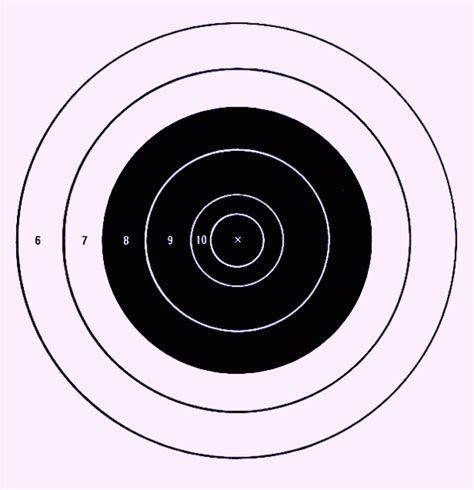 printable targets airguns free printable shooting targets for pistol zombie airgun