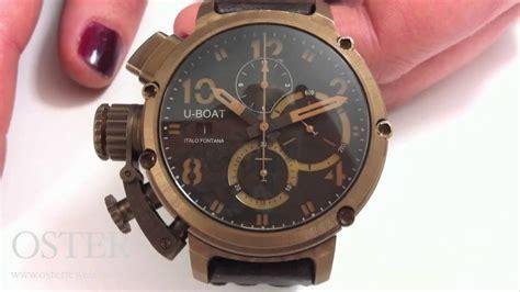 u boat watch philippines u boat u 51 chimera bronze watch doovi