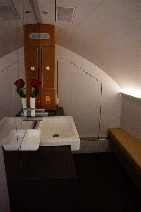 lufthansa a380 first class bathroom quot whale jet quot of a time lufthansa airbus a380 business