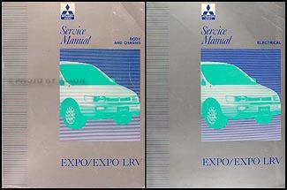 service manual 1996 mitsubishi expo lrv battery replacement service manual how to replace 1992 mitsubishi expo expo lrv body manual original