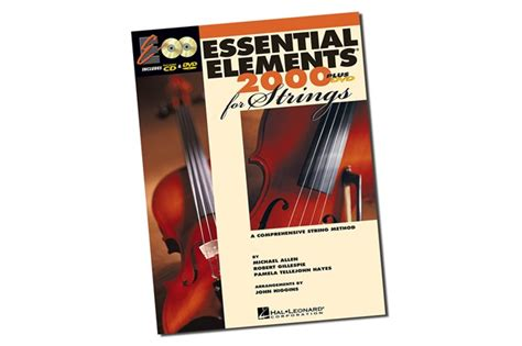 String Books - essential elements 2000 for strings violin book 1 heid
