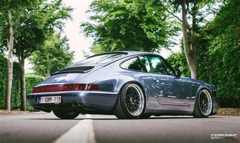 lowered porsche 911 low porsche 911 964