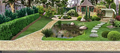 Amazing Backyard Landscapes by Amazing Backyard Landscaping Design Architecture Design