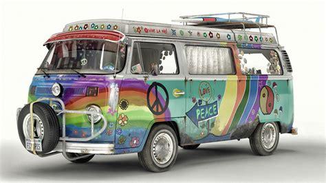 hippie volkswagen artem yuldashev vw t2 hippie van