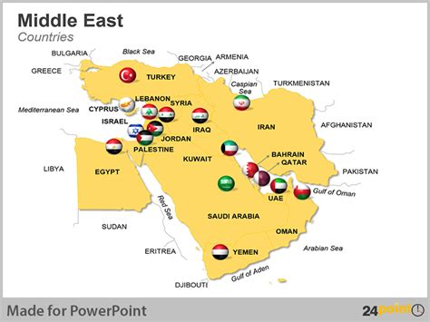 middle east map major cities 24point0 s middle east maps deck for ppt an ideal tool