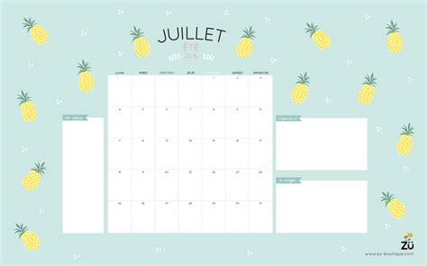 Calendrier Juillet Aout Le Calendrier Diy Juillet 2016 Z 252 Le