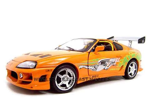 fast and furious 1 cars toyota supra fast and furious 1 ertl diecast model car 1