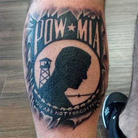 pow mia tattoos 33 outstanding pow designs and ideas stock
