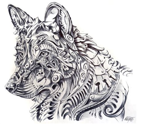 tattoo pen for dogs 25 creative drawings and artworks from top artists around