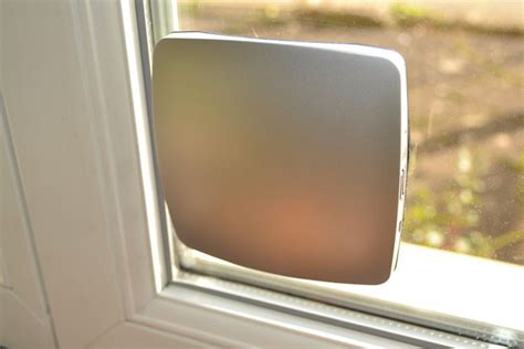 solar powered phone charger sticks to window window solar phone charger by xd design
