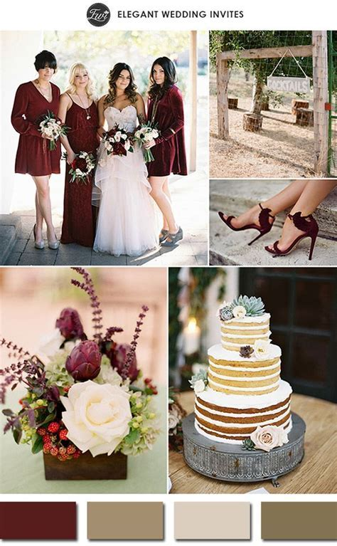 Top 10 Most Popular Wedding Color Schemes on   Pantone