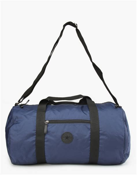 Converse Duffel Bag converse classic barrel duffel bag navy white blue