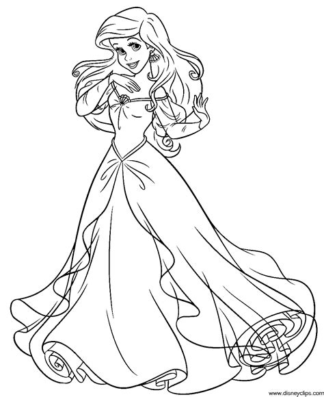 the little mermaid coloring pages ariel and eric the little mermaid coloring pages ariel and eric az