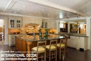 largest album of modern kitchen ceiling designs ideas tiles