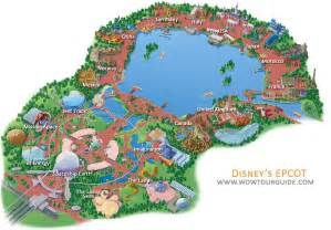 Epcot World Showcase Map by Map Of Epcot Center