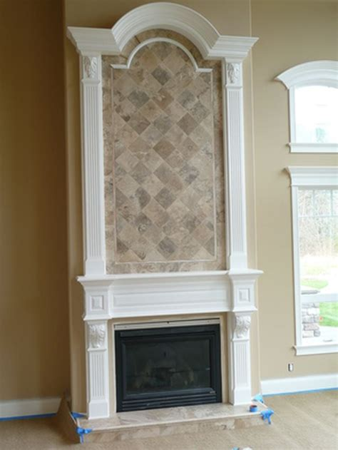 travertine fireplace surround hearth yelp