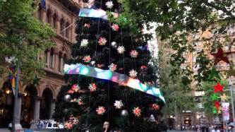 martin place tree lighting soft led screen mahjong p40 decorated the tree