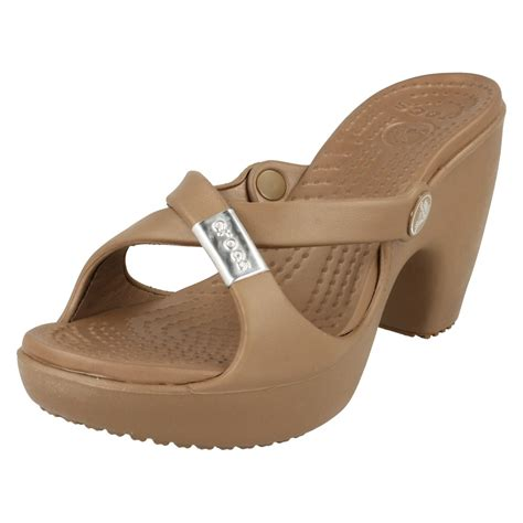 high heeled crocs crocs high heel 28 images patent croc leather stiletto
