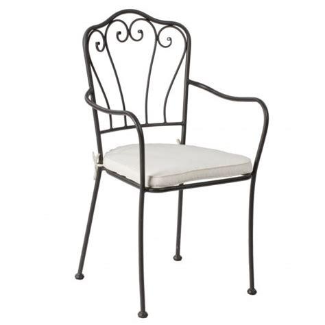 sedia in ferro battuto sedia ferro battuto braccioli etnico outlet mobili etnici