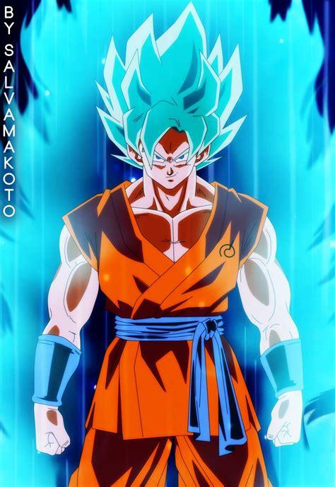 imagenes goku azul goku super saiyajin azul by salvamakoto on deviantart
