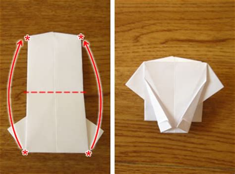 Paper Folding Shirt - money origami shirt and tie folding