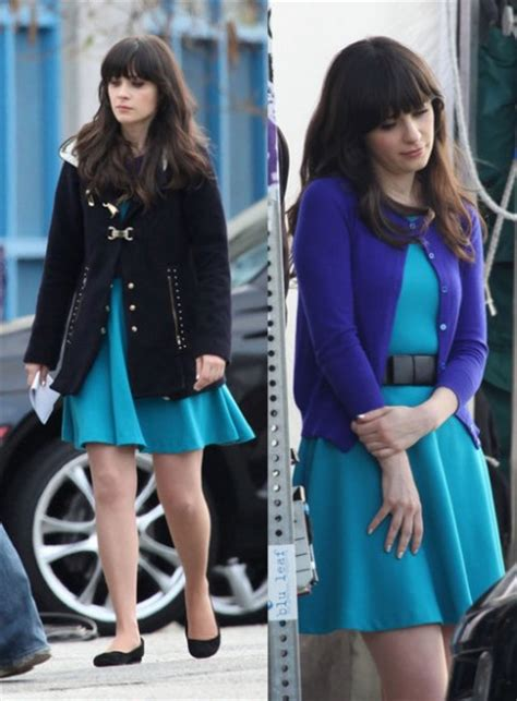zooey deschanel new girl fashion wwzdw what would zooey s yellow dress with black bow belt on new girl