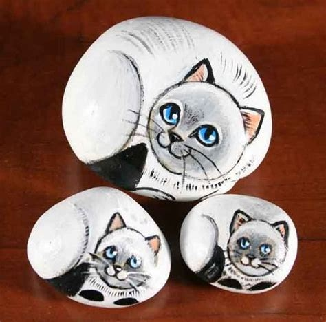 easy cat painting ideas 30 easy rock painting ideas for inspiration archlux net