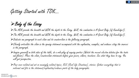 Exle Tok Essay by Tok Essays On Language